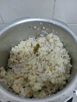 Arisi upma in Pressure cooker